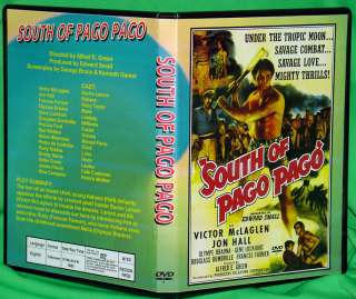 SOUTH OF PAGO PAGO   DVD   Frances Farmer, Jon Hall