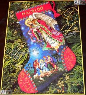 Dimensions Gold HEAVENLY ANGEL ,MAGI Counted Cross Stitch Christmas