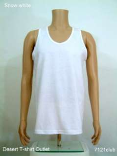 Weight Plain Tank Top PRO CLUB blank M   BIG 5XL 076783016996