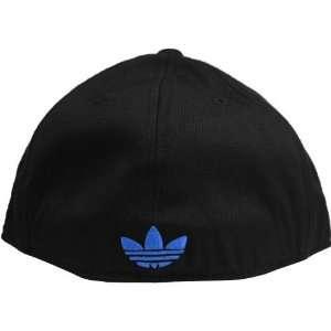 Denver Nuggets Black on Black Flex Fit Flat Brim Hat