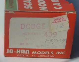 CUSTOM ROYAL Dealer Promo w. Friction Motor & RARE WINDOW BOX