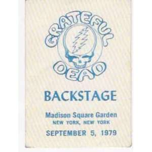Grateful Dead Backstage Pass MSG New York 1979: Home