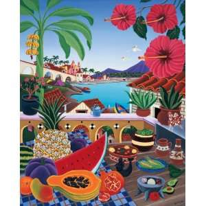 Taste of Paradise   500 Piece Large Format Puzzle Toys & Games