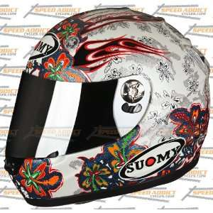 Suomy Vandal Flower Full Face Helmet Sports & Outdoors