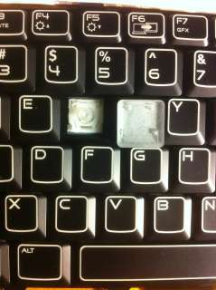 ALIENWARE AREA 51 M17 MX3 M17X SINGLE REPLACEMENT KEYBOARD KEY