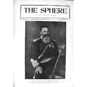 1900 PORTRAIT GENERAL JOUBERT LEADER SOUTH AFRICA WAR Home & Kitchen