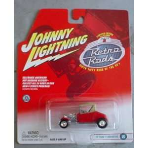 Johnny Lightning Retro Rods 27 Ford T Roadster RED #8 Toys & Games