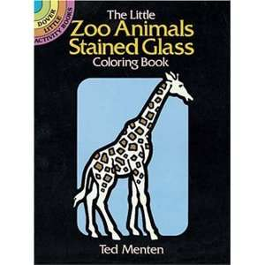 (Dover Stained Glass Coloring Book) [Paperback] Ted Menten Books