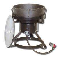 King Kooker®   5 gal. Jambalaya Cast Iron Pot and Cooker Package (1