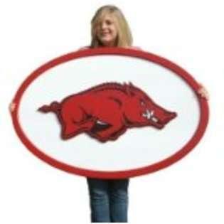 Fan Creations Arkansas Razorbacks Logo Wall Art NCAA College Athletics