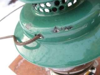 VINTAGE COLEMAN No. 237 EMPIRE SUNBURST LANTERN LAMP GAS 1948 SUNSHINE