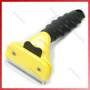 Shedding Grooming Hair Brush Rake Comb For Pet Dog Cat