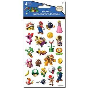 (4x8) Nintendo Super Mario Brothers Stickers