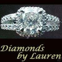 Halo semi mount HIGH quality diamonds and setting