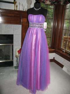Studio 17 12246 Purple Blue Pageant Prom Gown 20