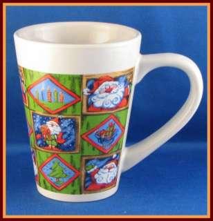 Royal Norfolk Mug Santa Claus Christmas Tree Candles