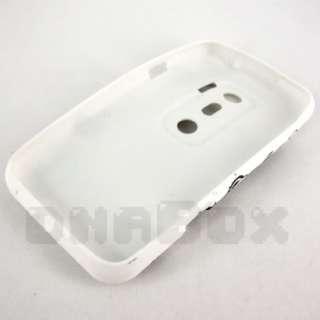 Soft TPU Gel Case Cover Skin + Film For HTC EVO 3D  F1