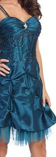 2103 CORSET PARTY CLUB COCKTAIL EVENING PROM DRESS