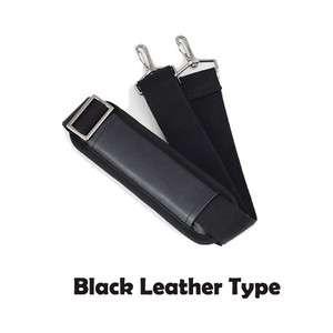 SHOULDER STRAP ADJUSTABLE REPLACEMENT LAPTOP/BUSINESS/TRAVEL BAG Black