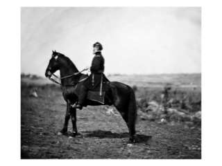 General Marsena Patrick On Horse, Civil War Prints at AllPosters