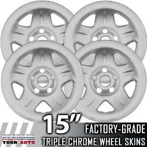 1997 2006 Jeep Cherokee Sport 15 Chrome Wheel Skins