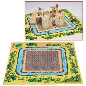 Playmat for Majestic Castle & Knights by Ryans Room Toys & Games