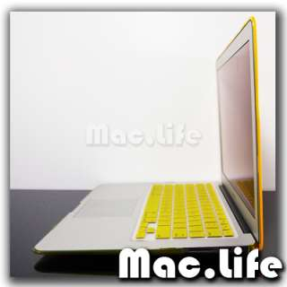 YELLOW Crystal Hard Case Cover for Macbook Air 13 A1369