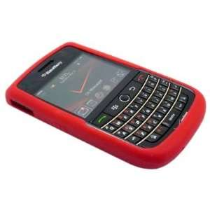 Red High Quality Soft Silicone For Blackberry Tour 9630
