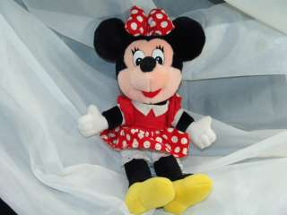 Vintage Disneyland Walt Disney World Minnie Mouse Plush