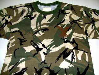 Rhodesia Selous Scouts Spec Ops t shirt AFRICAN CAMO