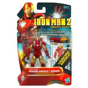 Iron Man 2 Movie Concept Series 4 Inch Action Figure Iron Man Power