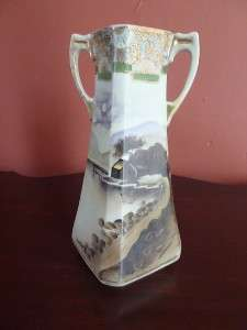 ANTIQUE IMPERIAL NIPPON VASE HAND PAINTED PORCELAIN VASE