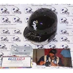 Bo Jackson Autographed/Hand Signed Chicago White Sox Mini Helmet