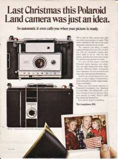 Polaroid Land Camera Countdown 350 1969 Ad