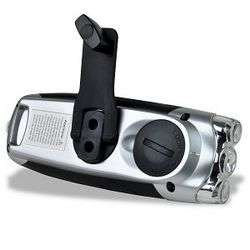 ENEX ET 0621 DynaSolar 3 LED Solar/Hand Crank Powered Torch Flashlight