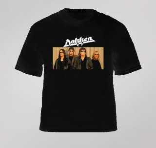 Dokken music rock 80s metal music retro t shirt