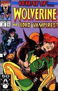 VAMPIRE WOLVERINE VS PUNISHER COMIC BOOK X MEN MARVEL