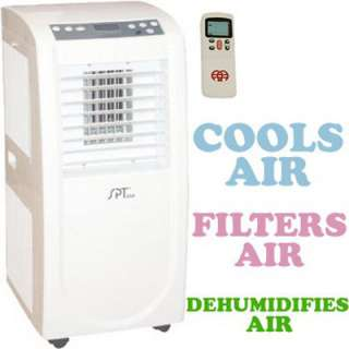9,000 BTU Portable Air Conditioner   A/C, Duhumidifier, Air Cleaner