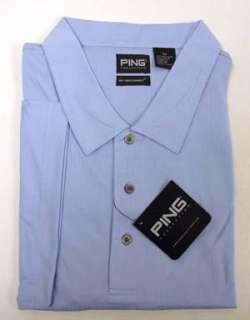 Ping Golf Blue Dry Fiber Dynamics Shirt Mens 4XL New