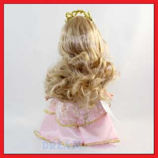 Precious Moments Sleeping Beauty Figure Doll   Princess Series