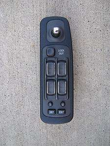 CADILLAC DEVILLE DRIVER / LEFT SIDE MASTER POWER WINDOW SWITCH OEM 98