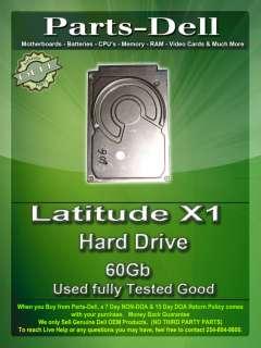 Dell Latitude X1 60Gb Hard Drive