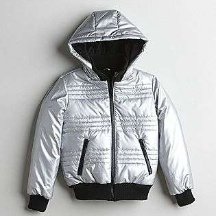 Girls Metallic Ski Jacket  Route 66 Clothing Girls Outerwear