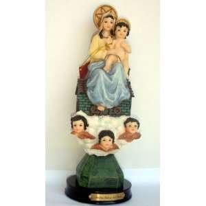 Nuestra Senora Del Loreto Figurine Statue 12 In Home