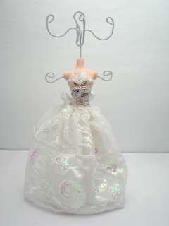 Wedding Dress Mannequin Jewelry Holder /Stand /Display
