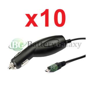 10x Rapid Fast Battery Car Charger Cell Phone for Verizon Casio GzOne