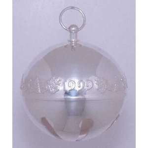 Wallace Sleigh Bell Silverplate Ornament No Box