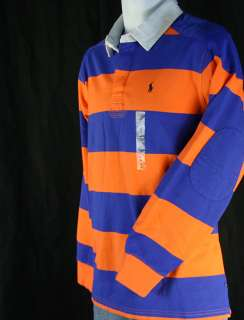 NWT Polo Ralph Lauren Boys Rugby shirts, LS, XL