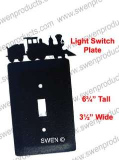 COAL TRAIN ENGINE Light Switch Plate Cover ~NEW~