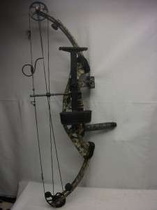 Hoyt ZR200 Megnatech Compound Bow w/ Carrying Case & Quiver